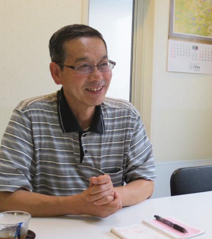 素敵な笑顔の田中さん